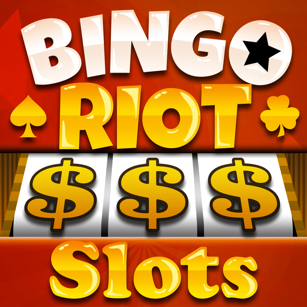 A Bingo Riot Slots VIP Vegas Slot Machine Game - Win Big Bonus Jackpots in this Rich Casino of Lucky Fortune